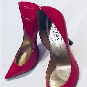Guess by Marciano Shoes - Guess Carrie Pink Stilettos Pointy Toe Heels Pump